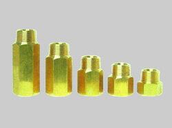 岩崎製作所:ティーアップアジャスター(固定式) 黄銅製 <52TUJ-B> 型式:52TUJ100B