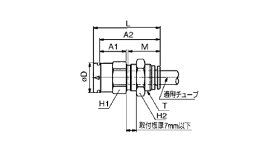 SMC:隔壁メスコネクタ(10個入)<KBE>:KBE3-12