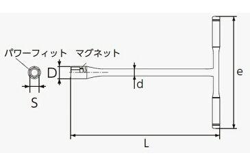 京都機械工具(KTC):ネプロス T形レンチ 型式:NHT-12