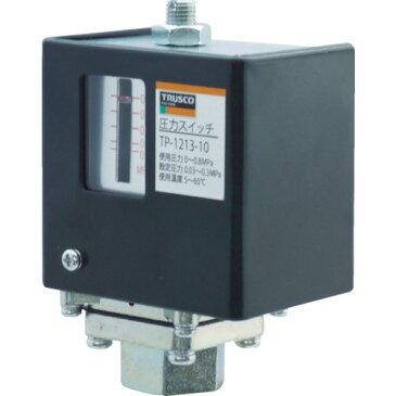 トラスコ中山(株) TRUSCO 圧力スイッチ 設定圧力0.1〜0.8MPa TP121810 (4960297)