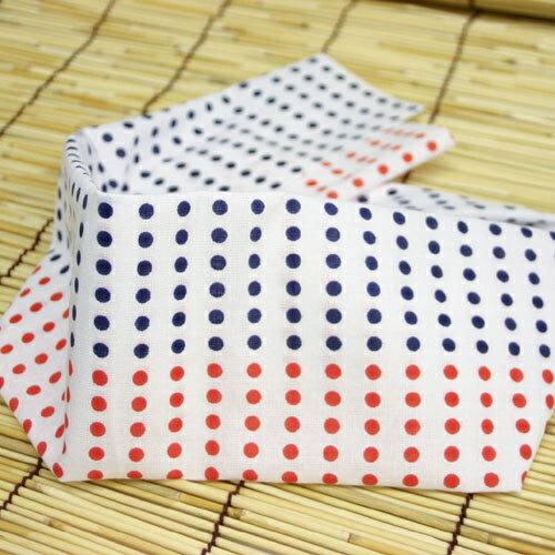 日本手ぬぐい 和手拭い 日本製 差分 豆絞り手拭い「赤紺」(80cm)10枚セット【HG】