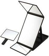 ヘアカラーミラー(縦型三面鏡)