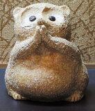 信楽焼の置物 お願い狸(たぬき)(大)364-01日本製