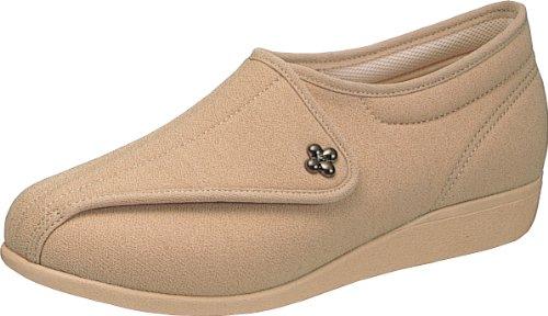 asahi shoes(アサヒシューズ) 快歩主義 介護靴 KHS L011 C265【オークストレッチ】 レディース KS20522