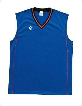 CONVERSE(コンバース) バスケットボール ゲームシャツ メンズ 【Rブルー/オレンジ】 CB26712 2556 トレーニング スポーツウェア タンクトップ 袖なし ノースリーブ 男性用 {NP}