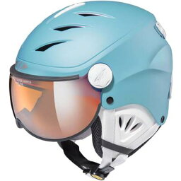 EVERNEW(エバニュー) 体育用品 スキー ウィンタースポーツ 帽子 ヘルメット CP CAMULINO RBW ジュニア・キッズ 子供用 【リバーブルー】 CPC1933 水色 ミズイロ {SK}