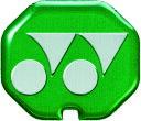 YONEX(ヨネックス) バドミントン グリップエンドバランサー(4個入) 【グリーン】 メンズ・レディース AC185 003 {M}