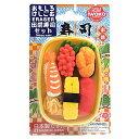 おもしろ消しゴム ファミリーパック 037 出前寿司 ブリスター iwako(イワコー)