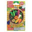 おもしろ消しゴム ファミリーパック 042 野菜バスケット ブリスター iwako(イワコー) #