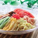冷し中華【2種類詰め合わせ】・・・しょうゆ×3袋、ごまだれ×3袋 半生麺 冷やし中華
