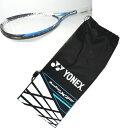 ヨネックス YONEX ソフトテニスラケット 初級者用モデルマッスルパワー200XFガット張り上げ完了&専用ケース付き 2