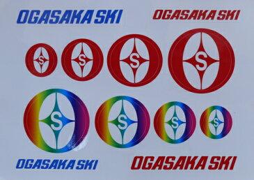 オガサカ【OGASAKA SKI】ステッカーセット