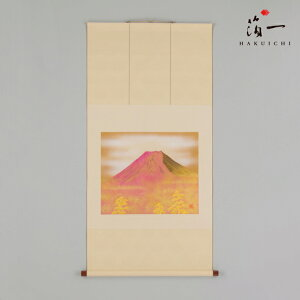 Hanging scroll Red Fuji (wide) | Kanazawa gold leaf foil (Hakuichi) |