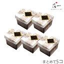 【まとめ買い】【金沢箔菓子】金箔入りチョコボーロ×5個 金沢...