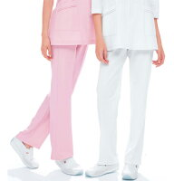 TS2088ナガイレーベン(Naway)TapiStat女子パンツ[白衣医療用看護師用ナース](白ホワイトピンクナースナース服ナースウェアナースウエアナガイレーベンパンツ通販楽天)