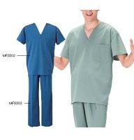 MF8302ナガイレーベン(Naway)男子上衣[白衣医療用看護師用ナース](グリーンブルーナガイレーベン通販楽天)