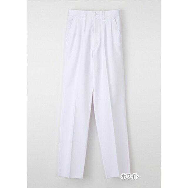 KES5163 ナガイレーベン NAGAILEBEN Naway 男性用 白衣 スラックス (白衣 医療用白衣 医師用 ドクター 白 ホワイト ブルー 白衣ネット)