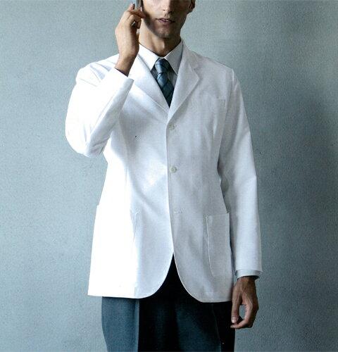 116-90 KAZENカゼン メンズドクタージャケット (送料無料 白衣 医療用白衣 医師用 ドクター 男性 ...