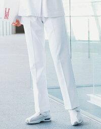 白衣ズボン 自重堂 ホワイセル WH10612 すっきり レディースパンツ 制菌加工 女性 看護師白衣(wh10612jic)