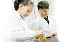 OP121児童子供小学生用シングル診察衣・実験衣医療白衣