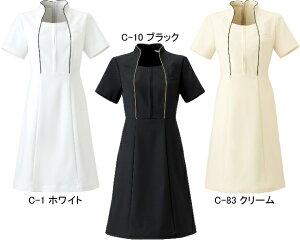 歯科エステ衣料・美容制服・ユニフォーム・エプロンCALALA(キャララ)CL-0181ワンピースサイズ:5号〜15号