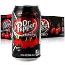 【送料無料】 ドクターペッパーチェリー 355ml×24本 輸入ドリンク 海外炭酸 アメリカのジュース 輸入 ジュース ドクターペッパー 人気商品 缶