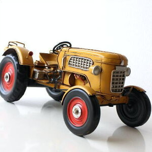 American Nostalgia トラクター   ブリキのおもちゃ 車 レトロ アンティーク 置き物 インテリア...