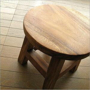 木製椅子チェアーイス子供子どもこどもベビーチェアミニ花台天然木ウッドシンプルアジアン家具...