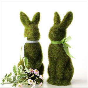 うさぎ 置物 雑貨 ウサギ モスラビット 置き物 かわいい ふわふわ インテリアオブジェ うさ…