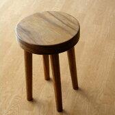 ウッドスツール 無垢 木製スツール 天然木 丸椅子 丸いす デザインチェアー シンプルスツール モダン 花台 ミニテーブル サイドテーブル フラワースタンド コンパクト おしゃれ ナチュラルスツール アジアン家具 ウッドスツール サークル