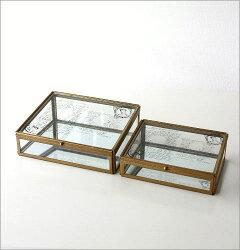 ガラスケース2Pセット
