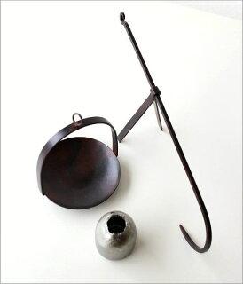 和陶器ベース手持ちハンギング