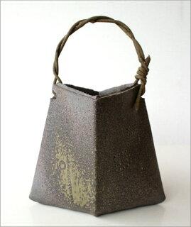 和陶器ベース蔓付きダイヤ特大
