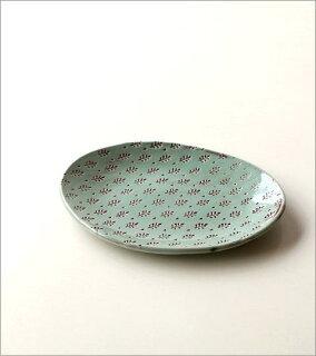 印伝楕円皿