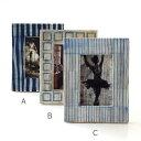 フォトフレーム おしゃれ バッファローボーン 写真立て 卓上 壁掛け モダン ナチュラル デザイン フォトスタンド 縦置き 横置き L判 自然素材 水牛の角 アートプリントボーンフレームB 3タイプ