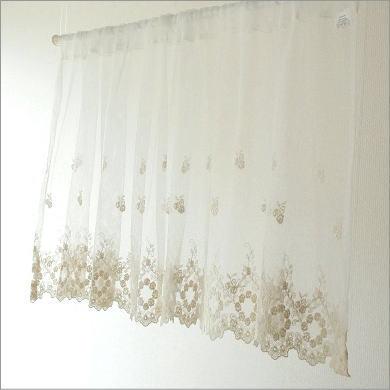 hakusan | Rakuten Global Market: Cafe curtains Lace Curtains 45 cm ...