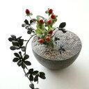 花瓶 陶器 一輪挿し 信楽焼 日本製 和 風情 オブジェ 置物 花瓶 和風 モダン インテリア…