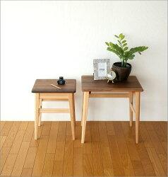 サイドテーブル木製ウォールナットビーチ天然木無垢ローテーブルソファーテーブルコーヒーテーブルカフェテーブルおしゃれシンプルデザインナチュラルウッドのネストテーブル