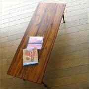 テーブル アイアン サイドテーブル センター リビング おしゃれ コンパクト シンプル アンティーク アジアン シーシャムベンチ