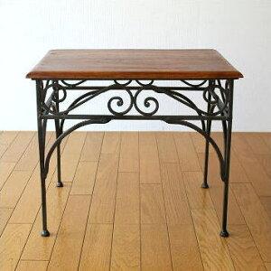 サイドテーブル コーヒー テーブル おしゃれ ソファー コンパクト アイアン シーシャム