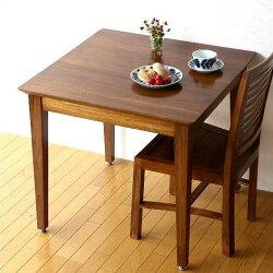 チークダイニングテーブル80