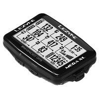 【最大4000円オフクーポン+P最大26倍(7/1420時より)】MEGAXLGPS(メガXLGPS)【大画面でコンパクト・最長48時間駆動GPS内蔵サイクルコンピューター】LEZYNE(レザイン)スピードメーター・サイクルコンピュータ