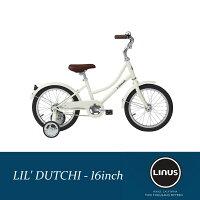 【エントリでP最大6倍(10/1910時まで)】LINUSBIKES(ライナスバイクス)LIL'DUTCHI(リルダッチ)16インチ・幼児・子供自転車【送料無料】