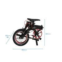 【14インチ7.4kgと軽量な折り畳み自転車】RENAULT(ルノー)ULTRALIGHT7(ウルトラライト7)2016モデル折り畳み・フォールディングバイク【送料プランB】