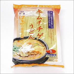 つるつるモチモチ韓国式うどん〔韓国料理〕キムチチゲうどん(2食入)