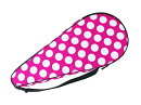 HannaHula(ハンナフラ)テニスラケットケース(ハードケース)