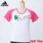 アディダス(adidas)◆レディースESSプレイフルボールTシャツ(LD250)