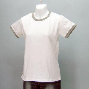 adidas★レディースワンポイント半袖Tシャツ(04440)237555白