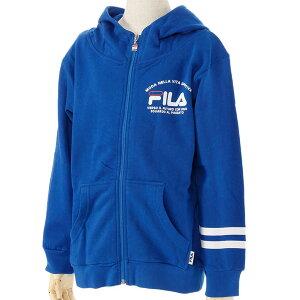 フルZIPパーカー/フィラ(FILA)ジュニア(D4816)フルジップスウェットパーカー43ブルー