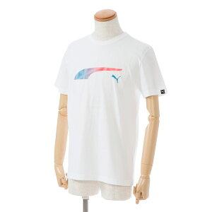半袖Tシャツ/プーマ(PUMA)メンズFormstripeFadeTee(592720)02白